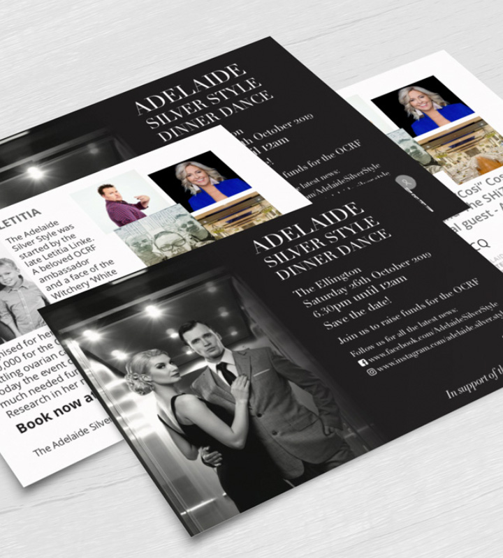 Adelaide Silver Style promotional postcards