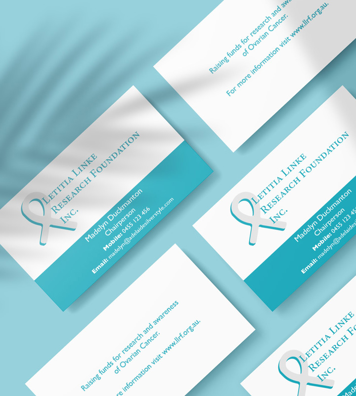 Business Card Samples Letitia Linke Research Foundation